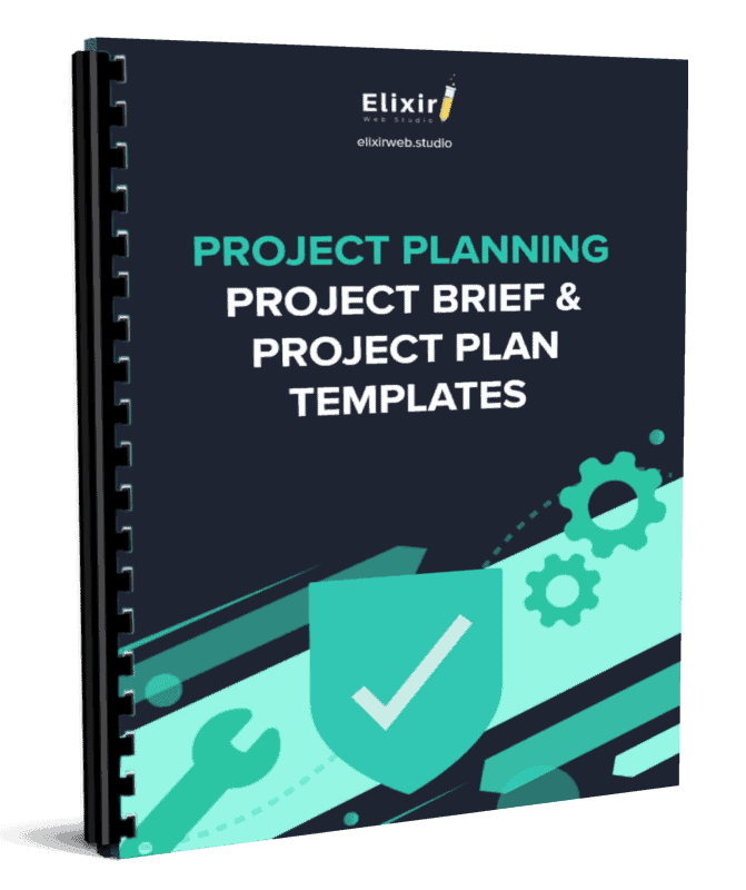 project planning templates cover